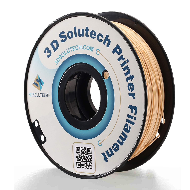 3DSLAVPPLA 3D Solutech Beige 3D Printer PLA Filament 1.75MM Filament 1.0KG Dimensional Accuracy +//- 0.03 mm 2.2 LBS