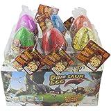 Dino Dinosaure Dragon oeufs d'incubation grandissant jouet grande taille Pack de 6pcs, fissure colorée par Yeelan