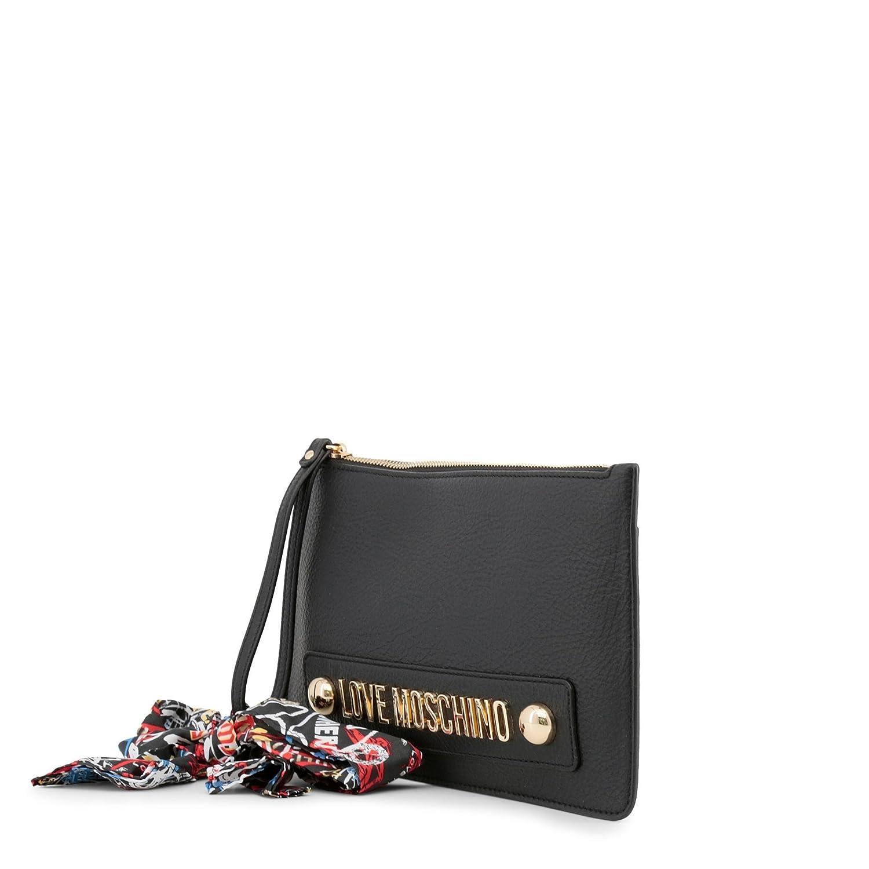 Moschino Love Moschino Femmes Echarpe cravate pochette Une Taille Blanc   Amazon.fr  Chaussures et Sacs 4212094dd125