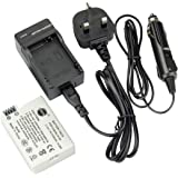 DSTE LP-E8 Rechargeable Li-ion Battery + Charger DC99U for Canon EOS 550D, EOS 600D, EOS Rebel T2i, EOS Rebel T3i Digital Cameras