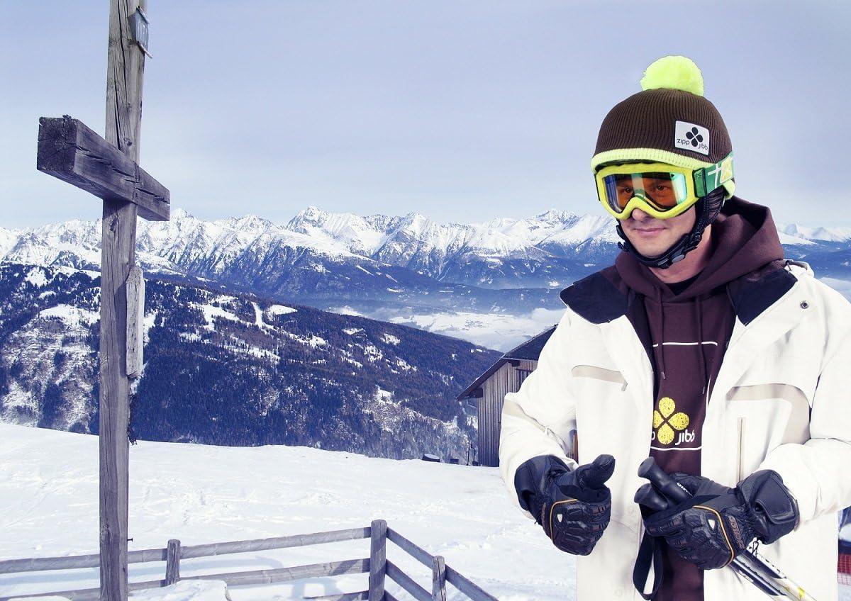 Helmüberzug von zipp/&jibb für Ski- Helm Snowboard