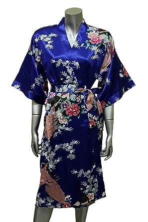 Asian print robes