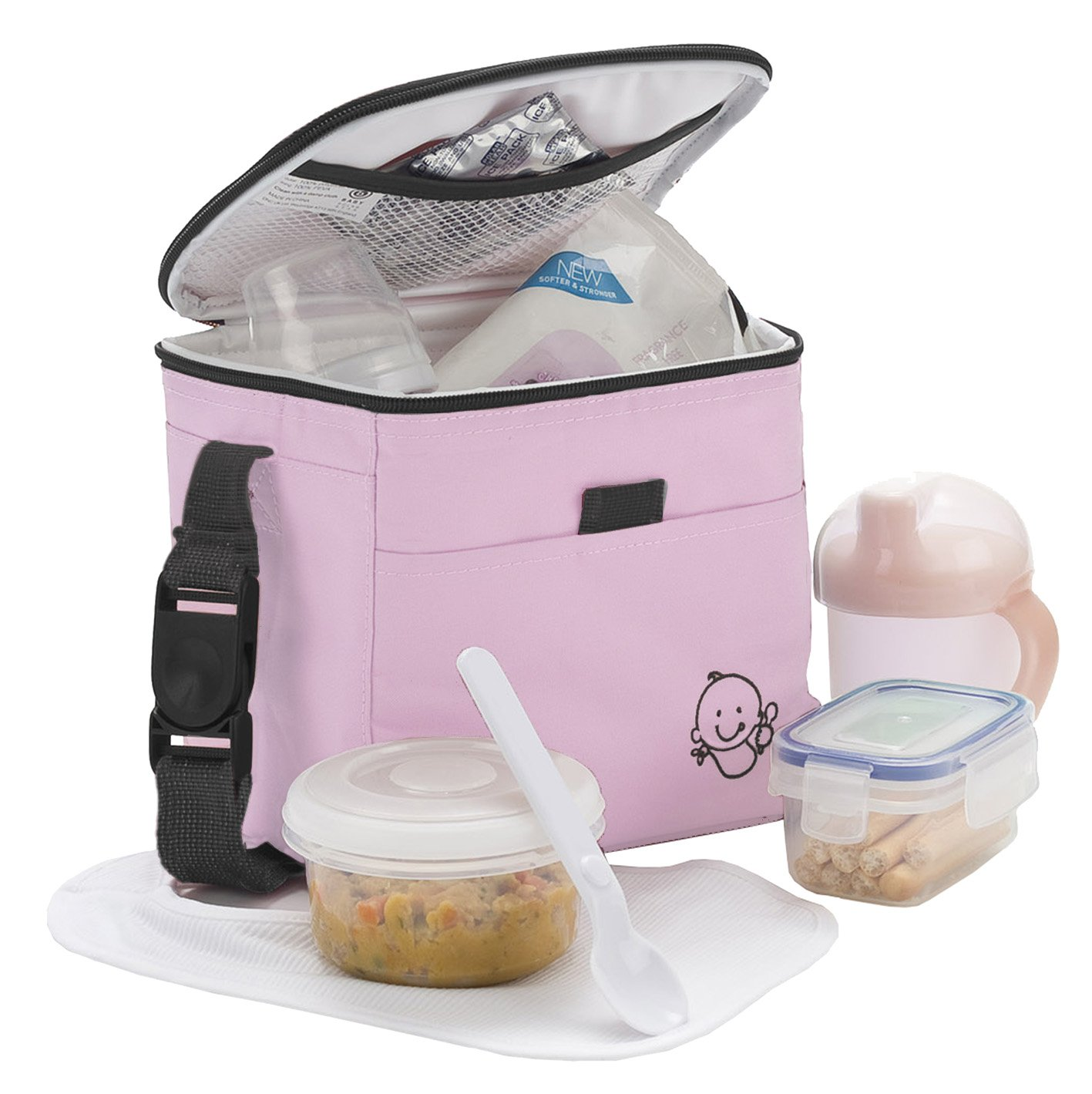 Baby Polar Gear Little Ones Lunch Sac repas Rose