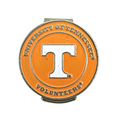 e12032bd2ab Image Unavailable. Image not available for. Color  Tennessee Volunteers Hat  Clip with Double-Sided Golf Ball Marker
