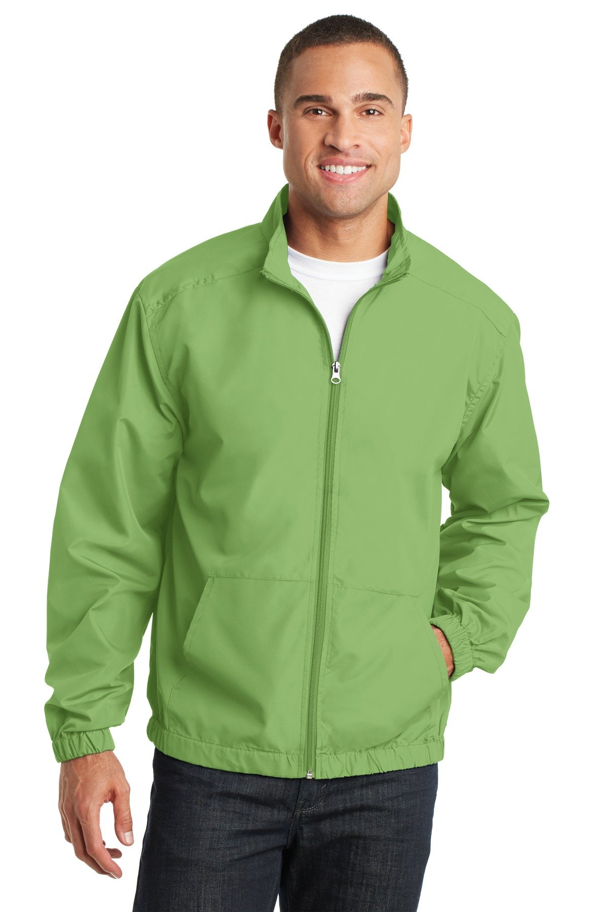 Port Authority Men's Essential Jacket XL Green Oasis by Port Authority