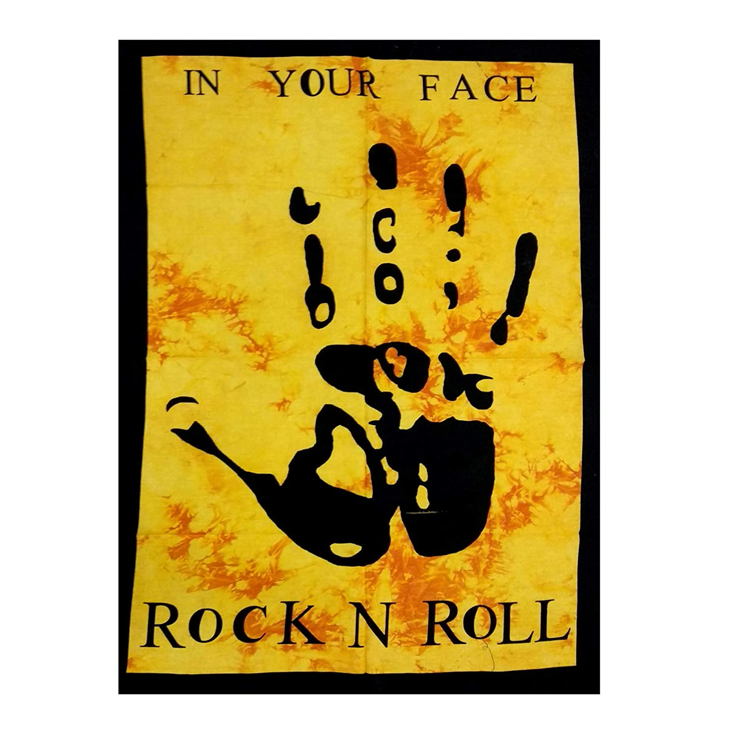 Amazon.com: ICC Rock N Roll Posters Concert Music Quote Rock Decor ...