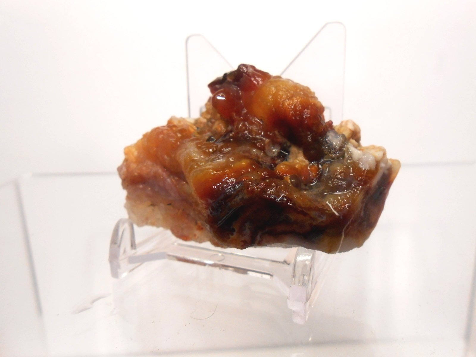 Rock Tumbler Gem Refill Kit Mixed ''Fire'' Agate Rough From The Mines of Calvillo,(Aguascalientes) Mexico, Deer Creek & Slaughter Mt. Arizona. 8 oz by Unknown (Image #6)