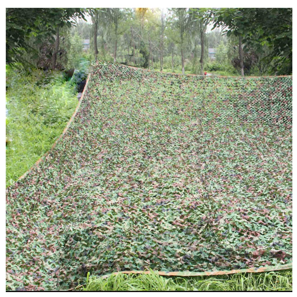 6X8M Jungle Camouflage Net, 210D Polyester Oxford Cloth Shade Net Hidden Camping Tent Hunting Camping Camping Cover Stage Background Decoration Theme Exhibition Camouflage Zjnhl Camouflage Camouflage Net