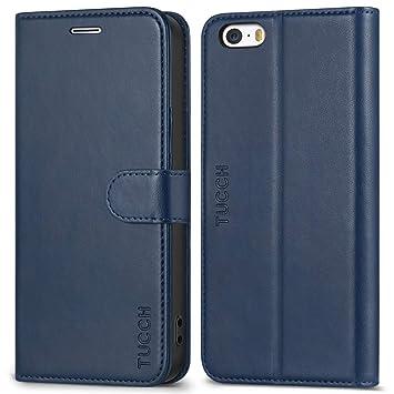 05c5174f3b iPhone SE ケース 手帳型 TUCCH iPhone 5sケース 手帳 アイフォン5 カバー TPU 合皮