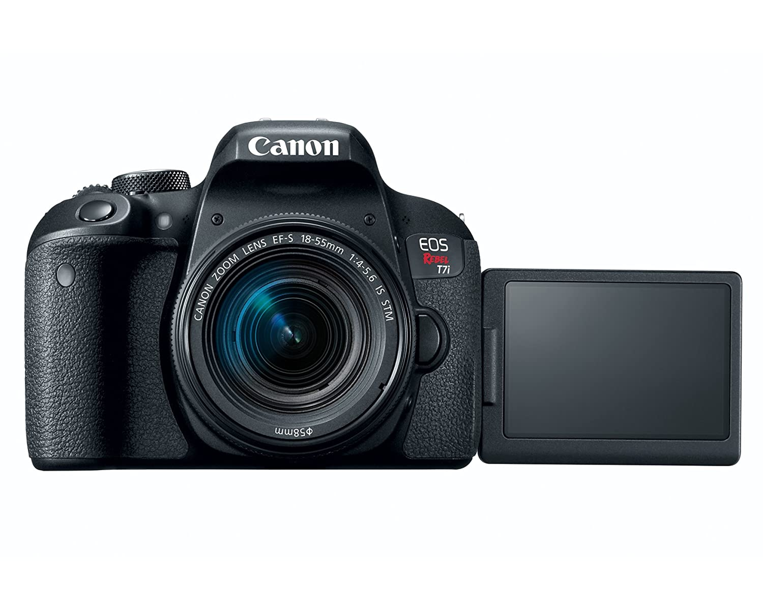 Buy Canon EOS REBEL T7i EF-S 18-55 IS STM Kit Online at Low Price ...