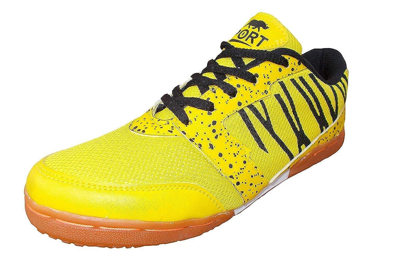 wholesale huge discount great fit Buy Port Unisex Adult Yellow Badminton Shoes-5 UK (39 EU) (6 US ...