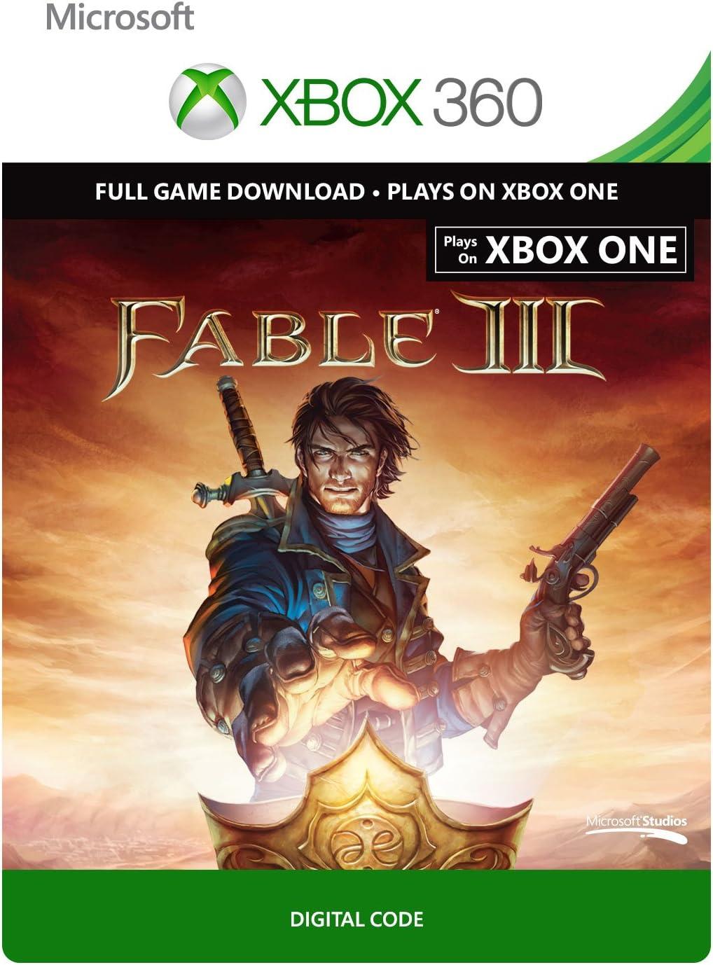 Amazon com: Fable III - Xbox 360 Digital Code: Video Games