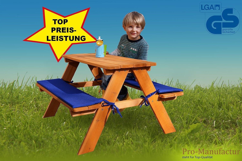 Picknicktisch Kinder Pro-Manufactur Stabile Kinder-Sitzgruppe
