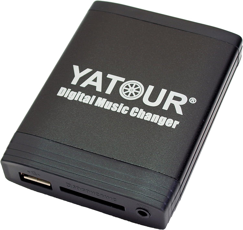 Yatour Ytm06 Bm4h Adapter Für Usb Sd Aux Kompatibel Computer Zubehör