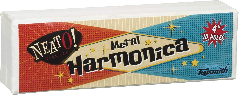 Toysmith Harmonica Wood Musical Instrument