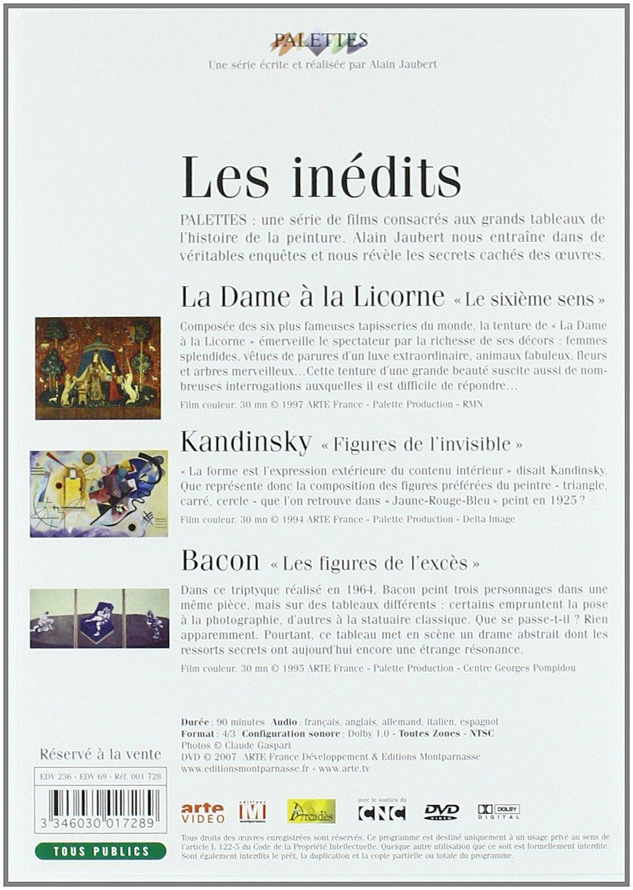 Palettes Inédits La Dame à La Licorne Kandinsky Francis