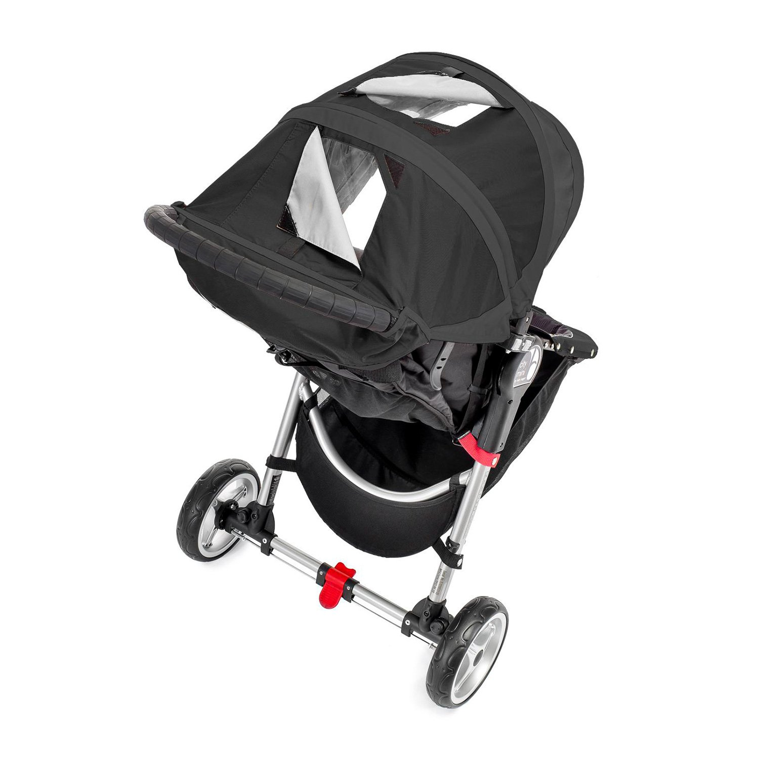 Baby Jogger City Mini Stroller In Black, Gray Frame by Baby Jogger (Image #8)