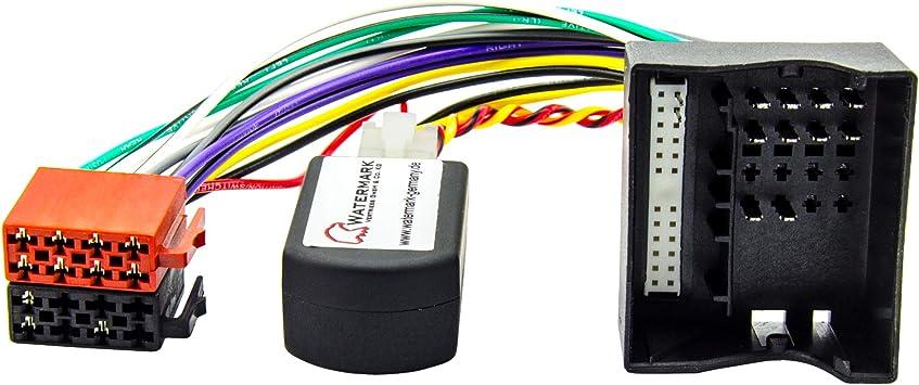 Watermark Vertriebs Gmbh Co Kg Radio Adapter Can Bus Für Mercedes Audio 20 50aps Ntg2 Ab 2004 Auto