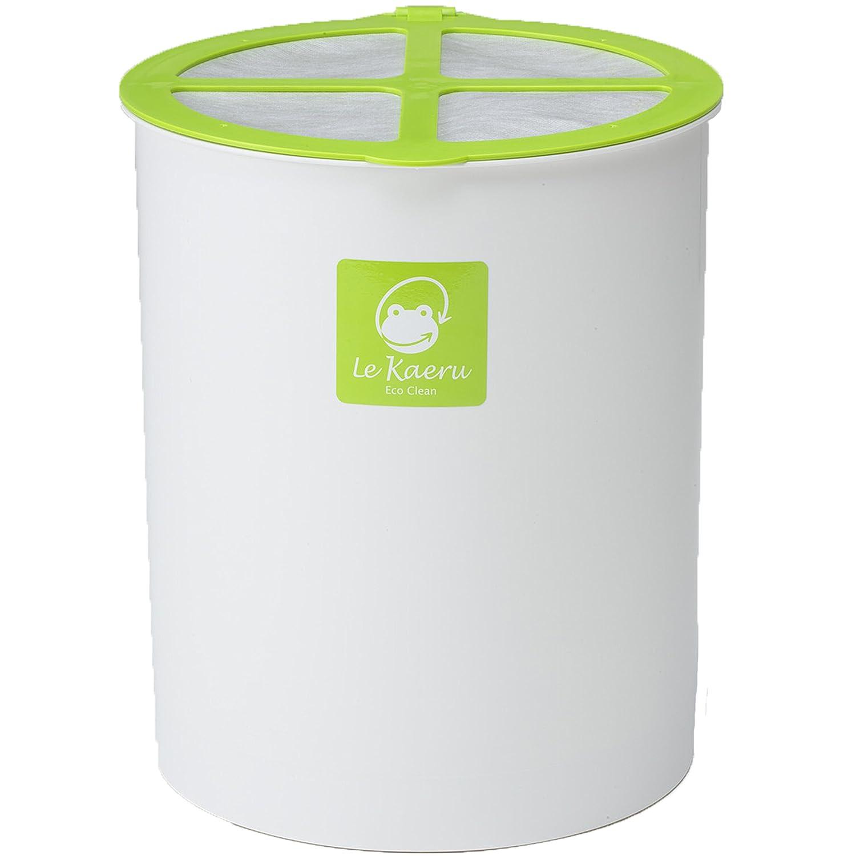 エコクリーン 家庭用 生ごみ処理器 ルカエル 基本セット オレンジ B00306X4YA 基本セット オレンジ