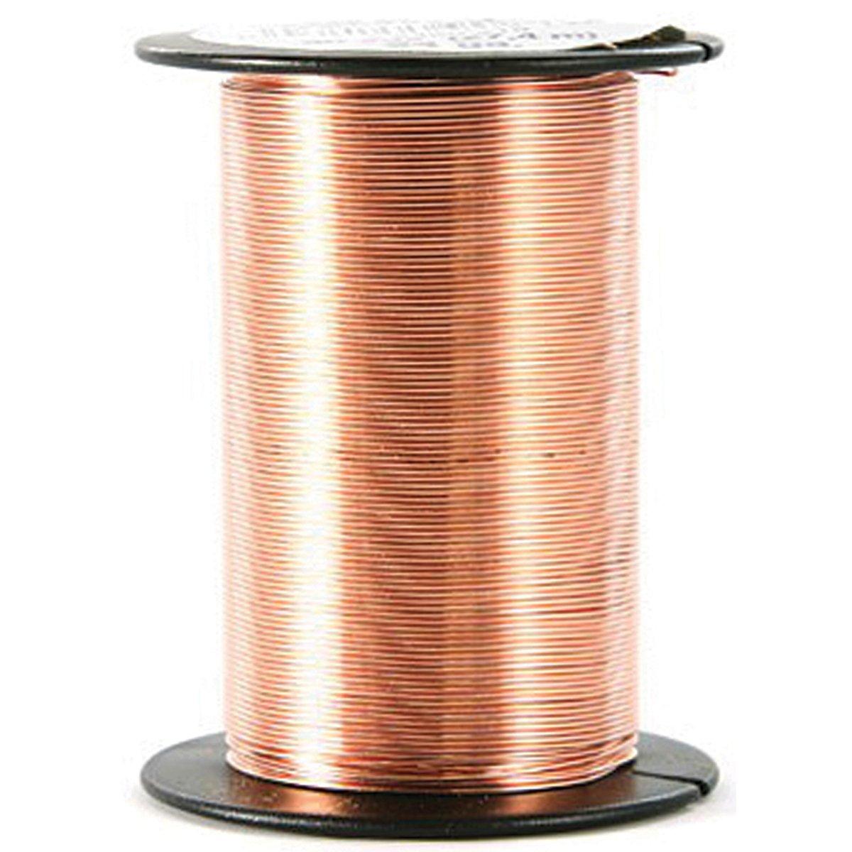 Beadery 24 Gauge Wire 25 Yards/Pkg-Copper 2490219