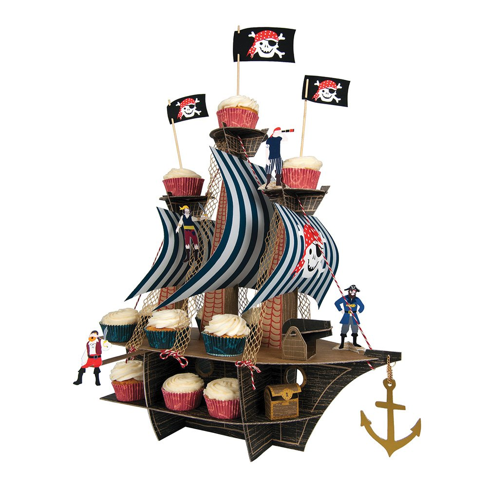 Meri Meri Centerpieces, Ahoy There Pirate Ship