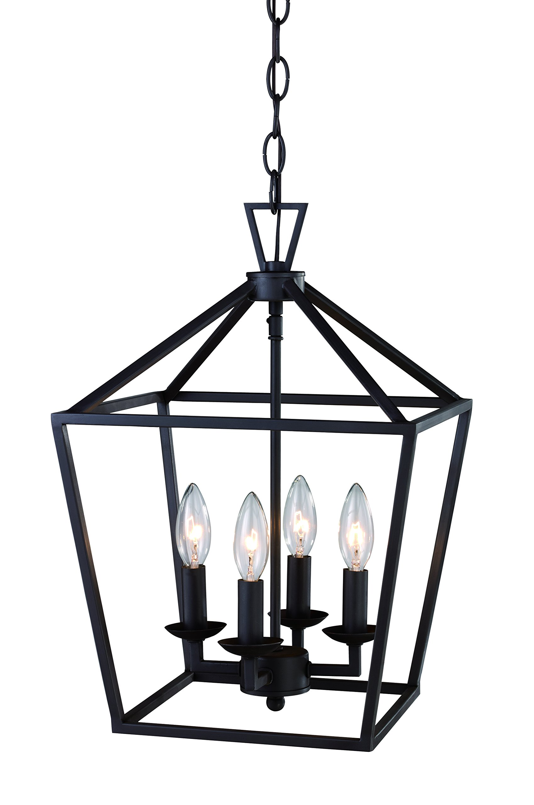 Trans Globe Lighting 10264 ROB Indoor Lacey 12'' Pendant, Rubbed Oil Bronze