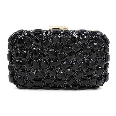 Flada Luxury Rhinestone Clutch Purse for Women Evening Clutch Bags ...