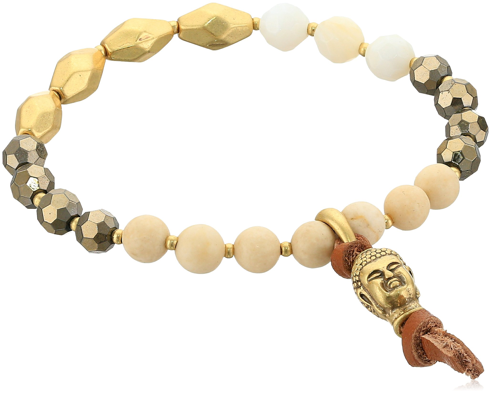 Lucky Brand Buddha Beaded Bracelet