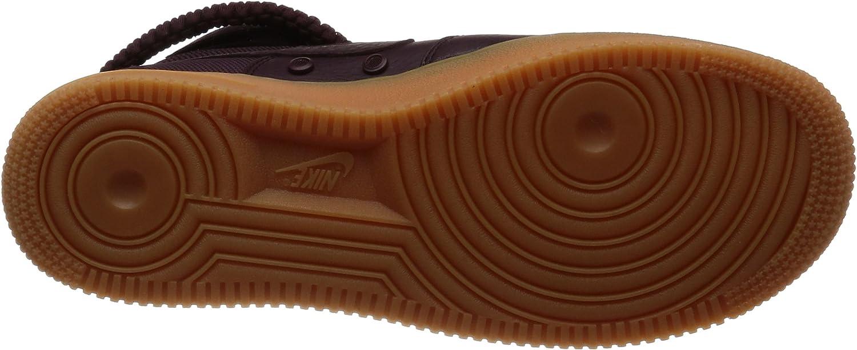 Nike Herren Sf Af1 Hi Gymnastikschuhe, Schwarz Rot