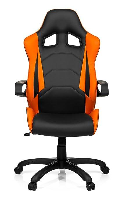 Hjh Office 621838 Chaise De Bureau Gaming Fauteuil Gamer Racer Pro