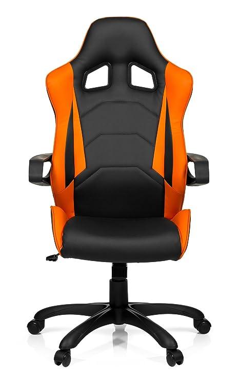 Hjh Office 621838 Gaming Chefsessel Racer Pro I Kunstleder Schwarz