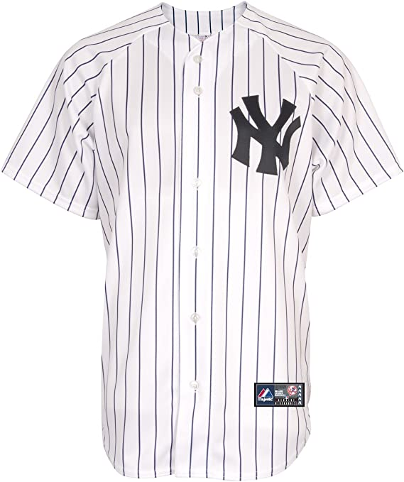 Majestic Camisa MLB New York Yankees WH S: Amazon.es: Ropa y accesorios