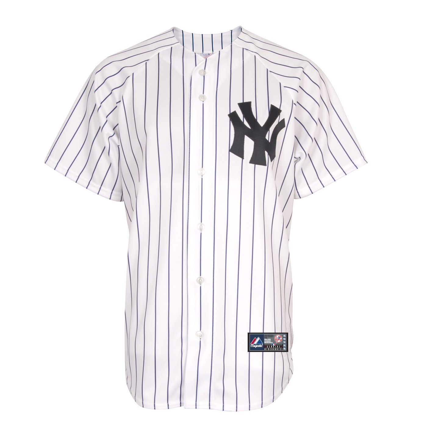 Buy MLB Majestic New York Yankees White Replica Baseball Jersey XXX