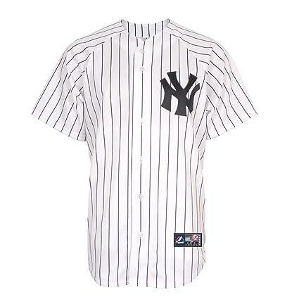 08d56be2a Buy MLB Majestic New York Yankees White Replica Baseball Jersey (XXX ...