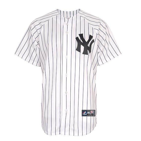 MLB New York Yankees Home réplica de la camiseta, color blanco - 6700-YANH-NK-RJH, Blanco: Amazon.es: Deportes y aire libre