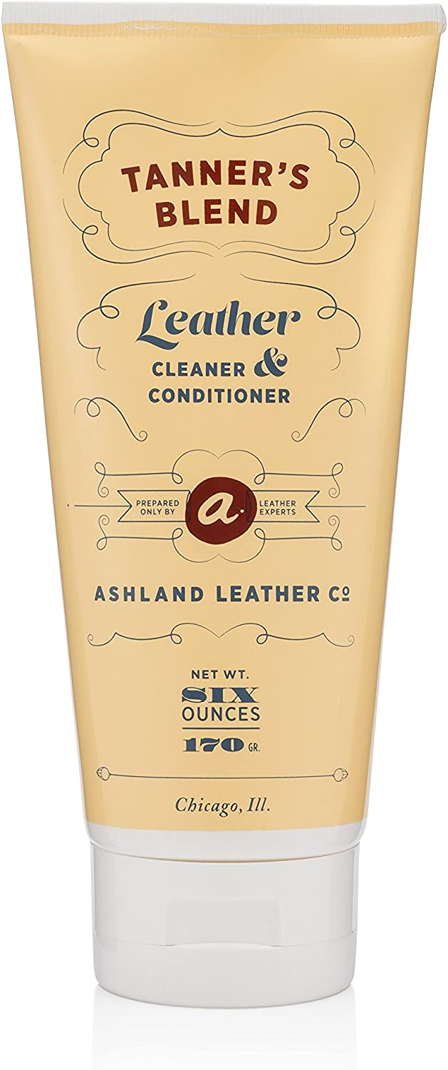 (3 Pack) Tanner's Blend - Leather Cleaner & Conditioner Made for Horween & Genuine Real Quality Leather Bags Shoes Furniture Cars Wallets Purses (2oz)