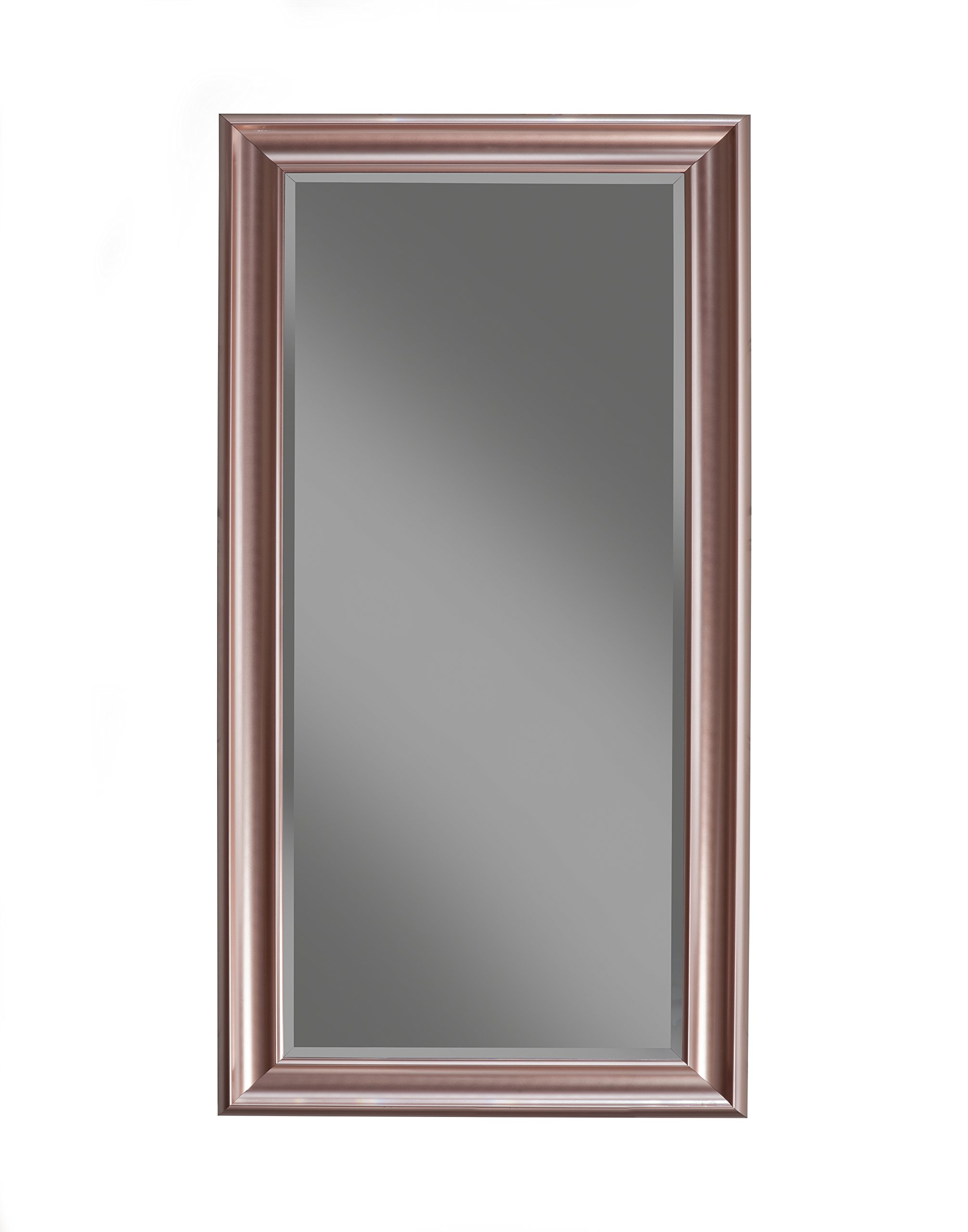 Sandberg Furniture, Full Length Leaner Mirror, Rose Gold