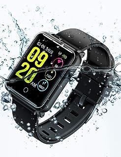 Smartwatch IP68, Reloj Inteligente Hombre con 8 Modos Deporte, Reloj Deportivo, Monitor de…