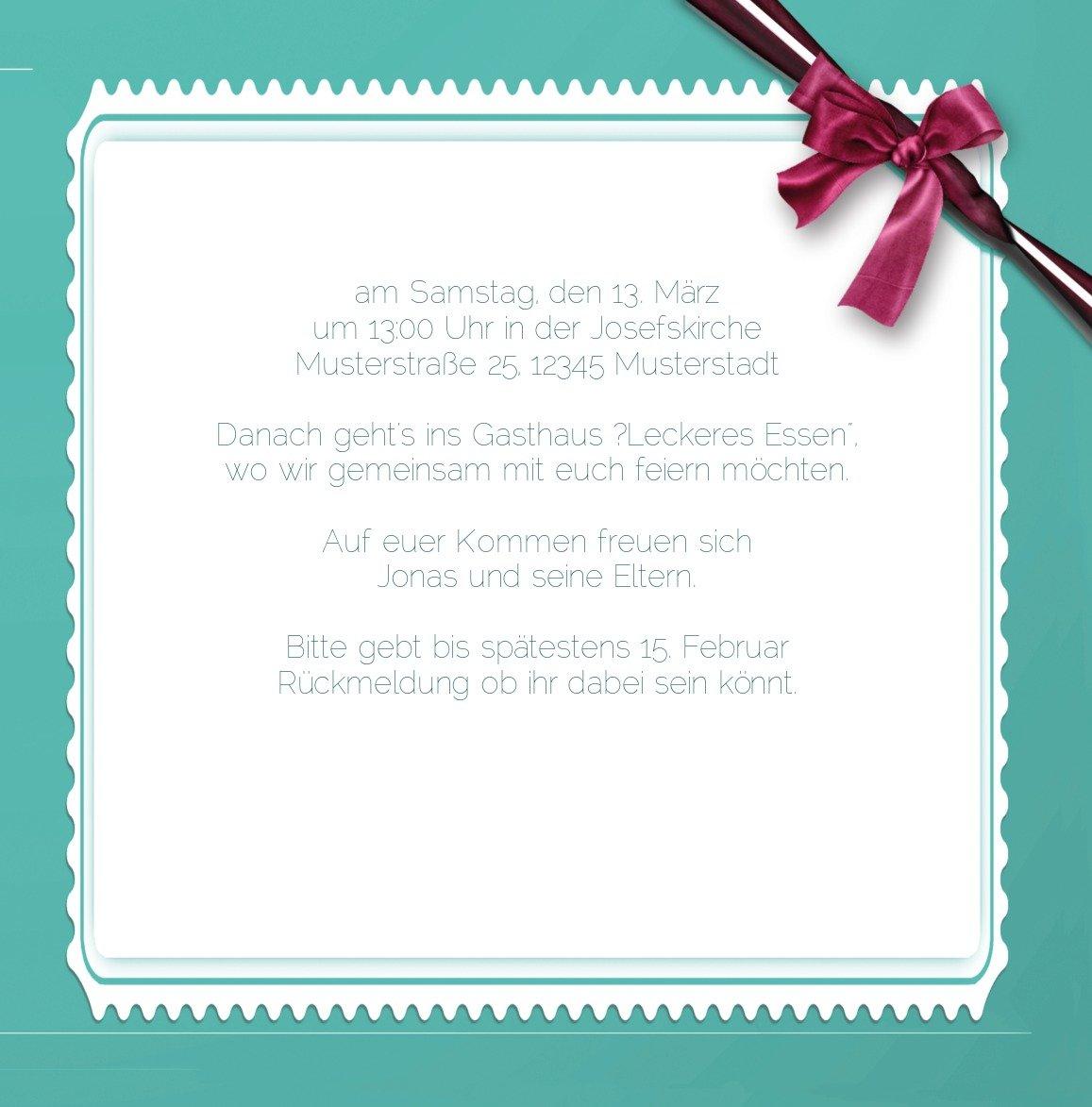 Kartenparadies Einladungskarte Taufeinladung Taufkarte Ribbon, Ribbon, Ribbon, hochwertige Einladung zur Taufe inklusive Umschläge   10 Karten - (Format  145x145 mm) Farbe  Rosalila B01N9XLZIQ | Deutschland Berlin  | Tragen-wider  | Kompletter Spezifikationsbereic 8298c1