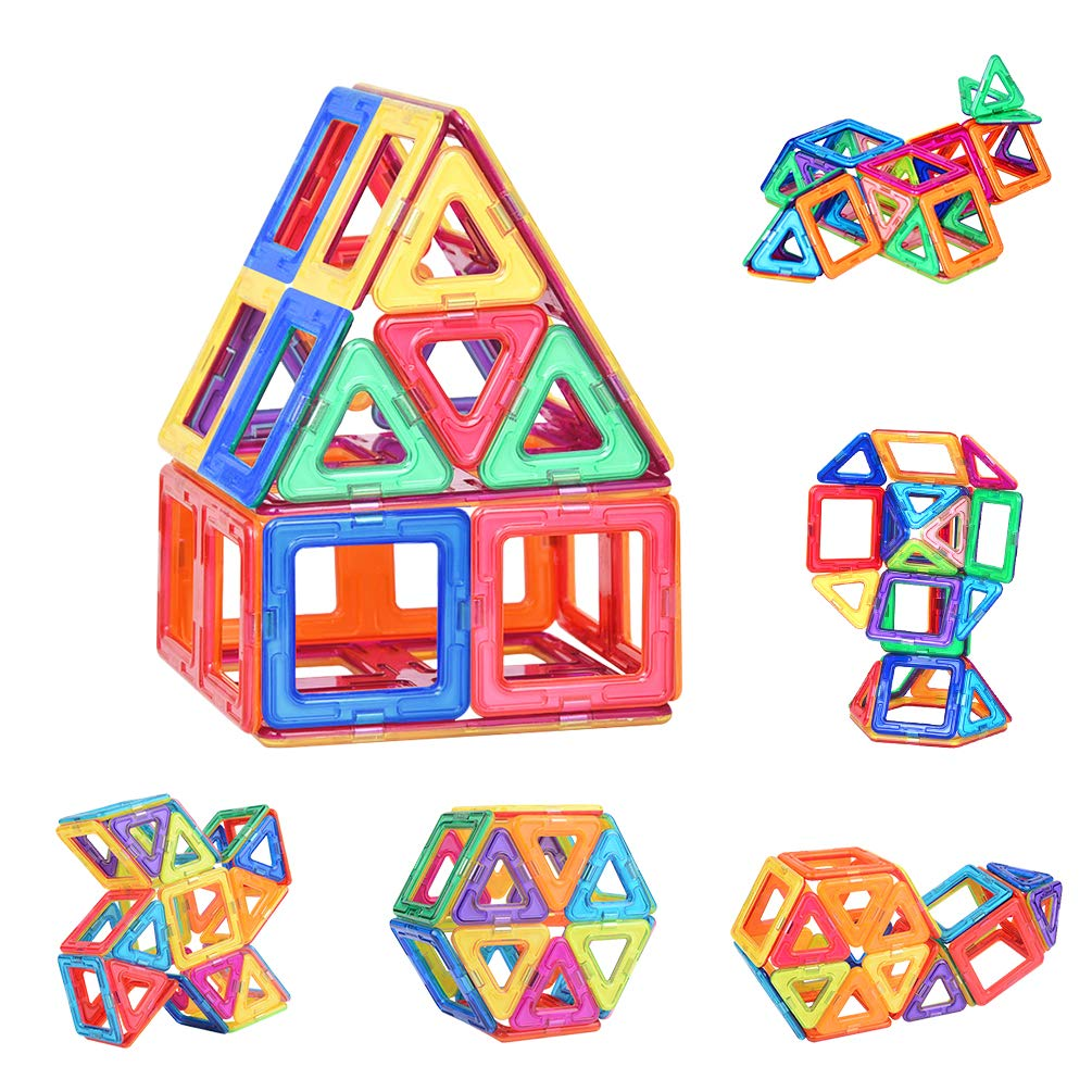 42 PCS Magnetic Blocks,Magnetic Building Blocks Set