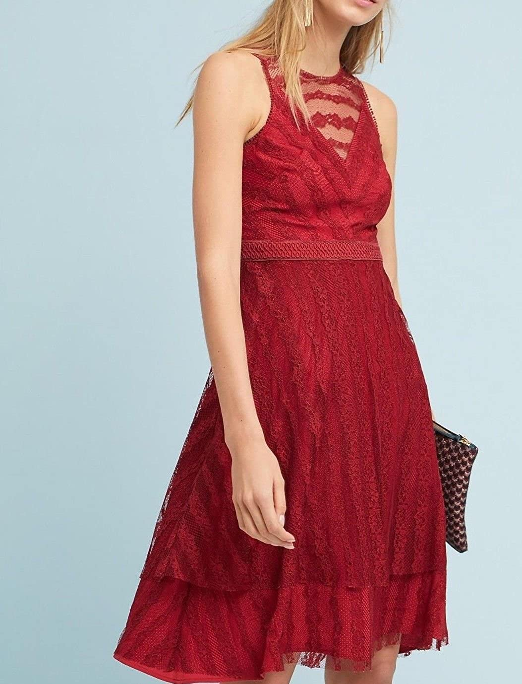 e6a07e982958 Anthropologie Tango Lace Dress by Moulinette Soeurs 188 - NWT at Amazon  Women's Clothing store: