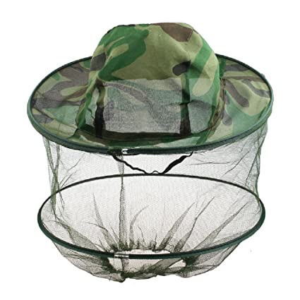 Friendly New Mosquito Hat With Head Net Mesh Fishing Beekeeping Hat Tools Camouflage Cap Keeping Insects Bee Flying Face-protector Home & Garden Garden Supplies