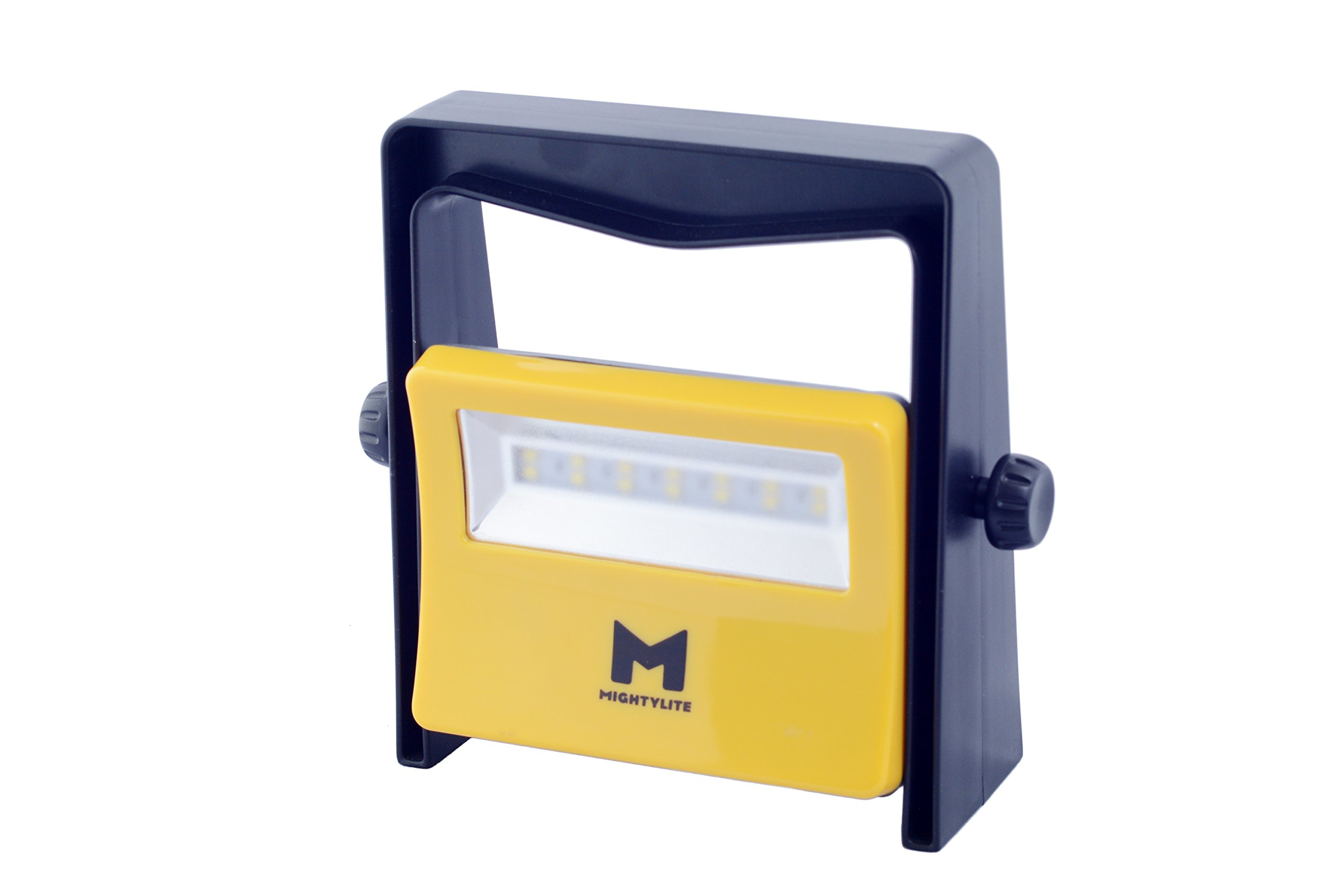 MightyLite Series II, [8W 14LED] Portable Outdoor Work Light - 600 Lumen 50,000 Hour Lifespan - Industrial Grade Polycarbonate & Aluminum Housing, Drop-Resistant, Ultra Durable Compact Flood Light