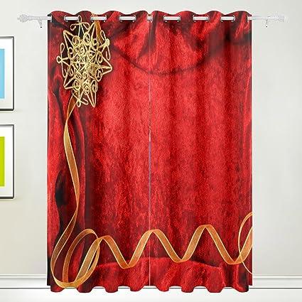 Amazon Com Xianghefu Morden Blackout Curtains With Grommet Top