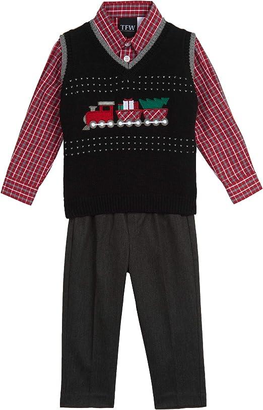 TFW Dresswear Baby Boys Sweater Vest Set