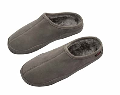 3b8d1279e0ff PRO 11 WELLBEING Suede Orthotic Slipper with Full Length Arch Support  Insoles for Ultimate Comfort (