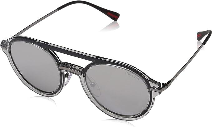 Prada LINEA ROSSA MQG2B0 Gafas de sol, Grey, 51 para Hombre