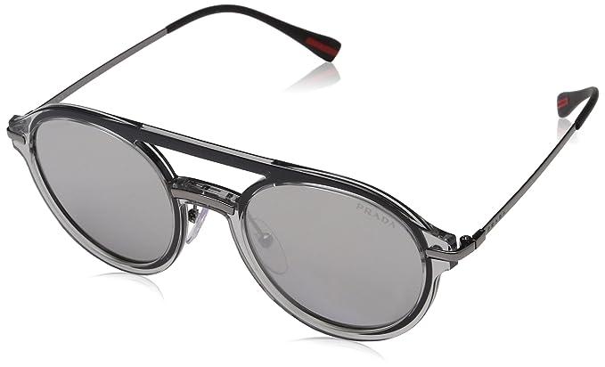 Prada SPORT MQG2B0, Gafas de sol para Hombre, Grey 51 ...