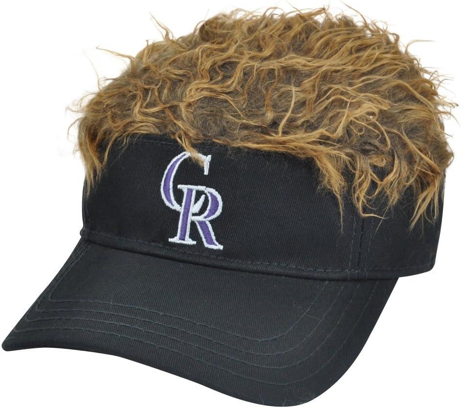 Colorado Rockies MLB CREDO furiosamente pelo castaño visera ...