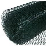 Volierendraht grün beschichtet 10x0,9x1000 mm 10 m Maschendrahtzaun